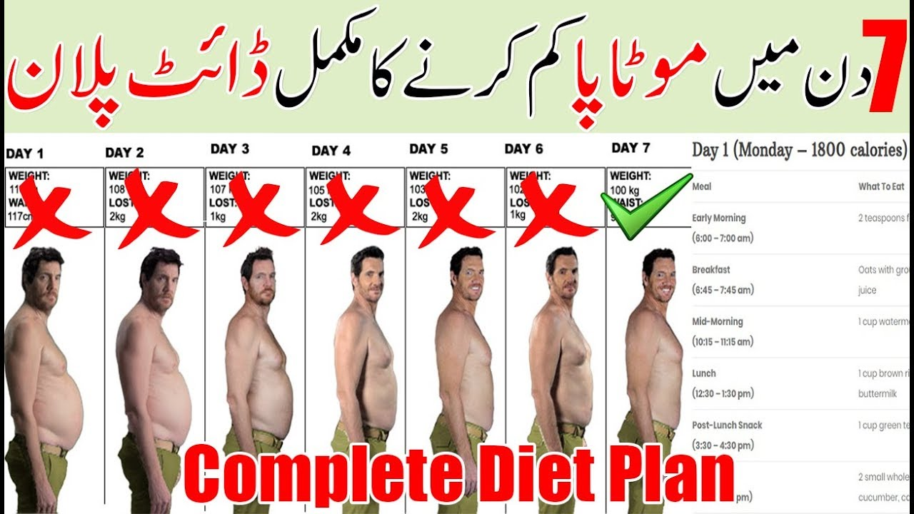 7 Day Diet Plan For Weight Loss In Hindi Get Flat Belly In 7 Days Without Exercise Sam S Health And Fitness