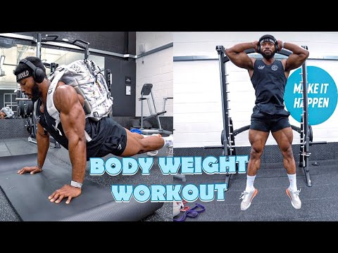 full body home workout  no equipment bodyweight workout