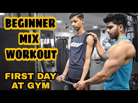 first day at gym complete guidance for beginners